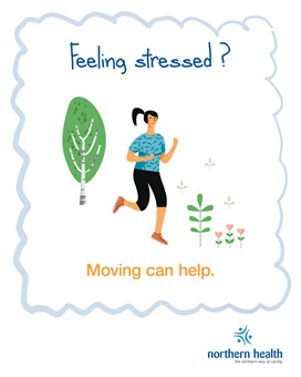 Feeling stressed? Moving can help.