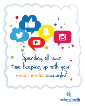 Spending all your time keeping up with your social media accounts?