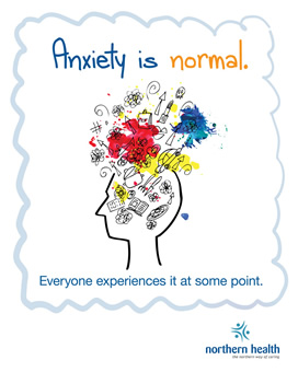 Anxiety is normal, everyone experiences it at some point.
