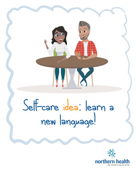 Self-care idea: learn a new language.