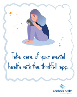 Take care of your mental health with the thinkFull app.