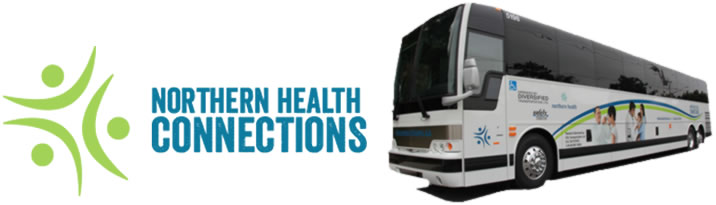 Northern Health Connections bus