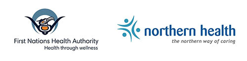 First Nations Health Authority and Northern Health logos