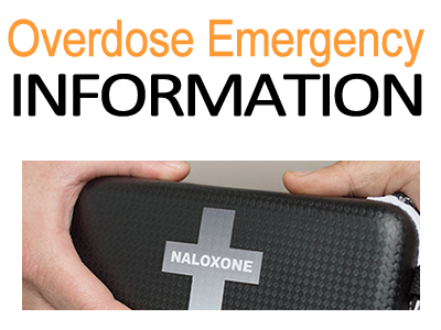 Overdose emergency information