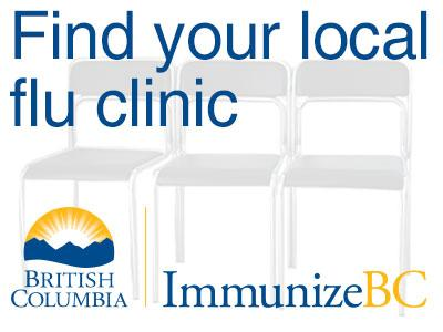 Immunize BC - Find your local flu clinic